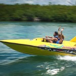 Jungle tour aquaworld speed boat and swim with dolphins combo
