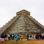 Swim with dolphins Cancun plus Chichen Itza:  El Castillo