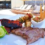 The Sundeck Lounge Dolphinaris Cancun -  Sun loungers.
